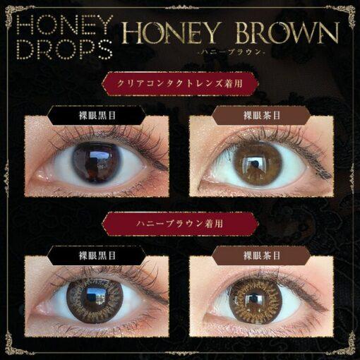 HONEY DROPS 1Day Honey Brown   HONEY DROPS 1Day Honey Brown